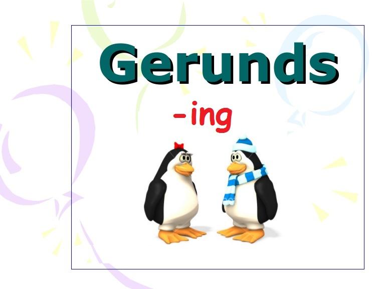 Gerund – Герундій в англійській мові