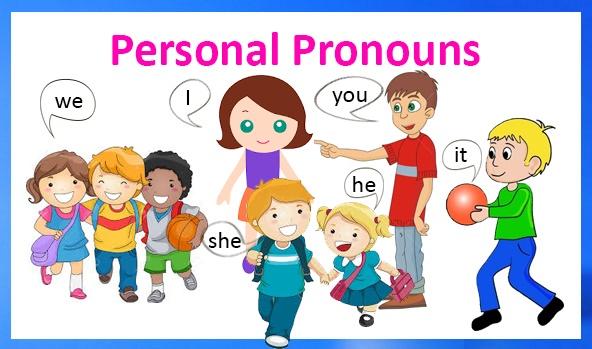 Personal Pronouns. Особові займенники - онлайн гра, відео, таблиця з транскрипцією і перекладом, завдання для друку