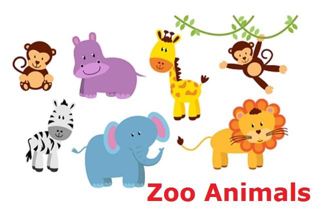 Zoo Animals (Тварини зоопарку) - Словниковий запас