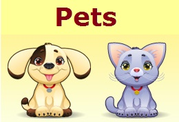Animals. Pets (Тварини. Домашні улюбленці) - словниковий запас