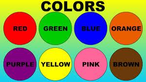 Colors (кольори) - інтерактивна онлайн гра для вивчення назв кольорів англійською