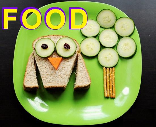 Food (Їжа) - словниковий запас англійської мови онлайн для дітей