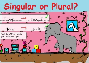 Nouns - Singular or Plural? (Утворення множини іменників)