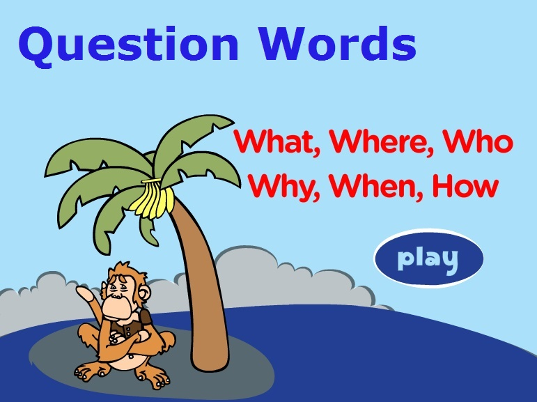 Question Words – What, where, Who, why, when, which, how (Питальні слова)