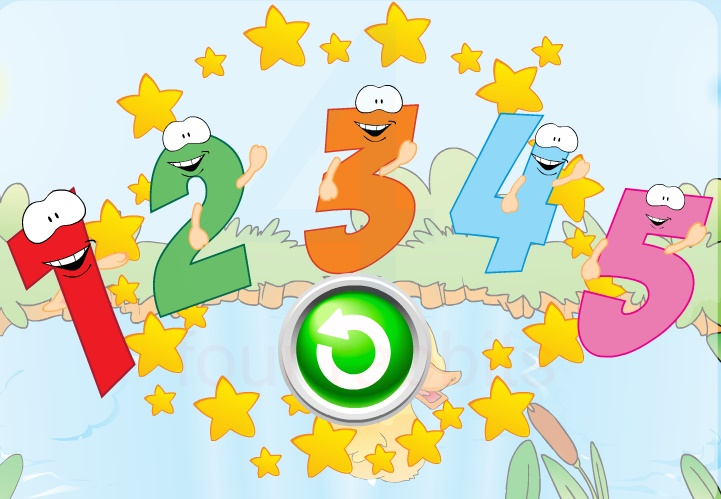 Numbers 1-12 (Цифри від 1 до 12) англійською для дітей