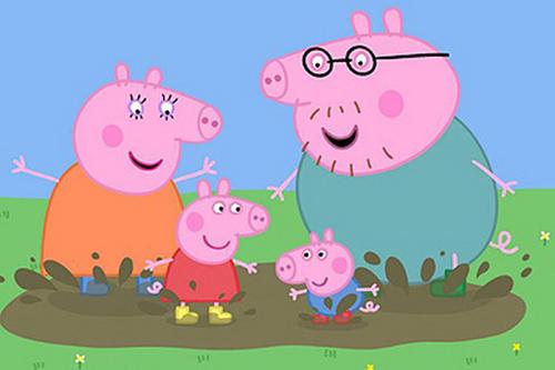 Куцька Пеппа (Peppa pig) - англійською з англійськими субтитрами