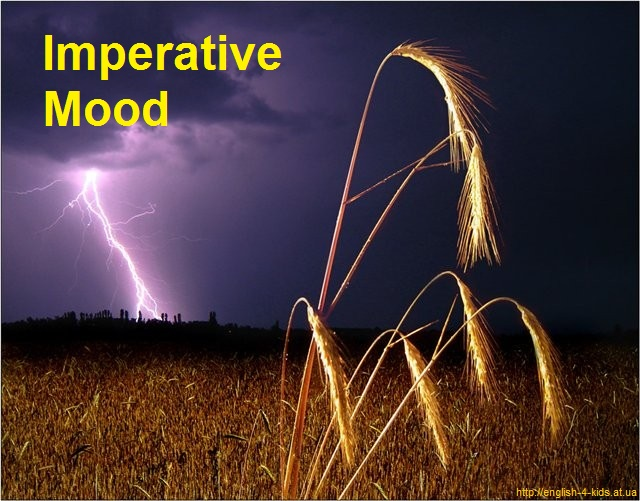Наказовий спосіб в англійській мові (Imperative Mood)